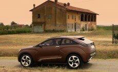 Обои Lada Xray concept 2012: 1024 x 768