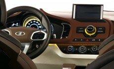 Обои Lada Xray concept 2012: 1600 x 1200